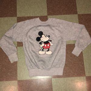 Vtg crewneck Disney mickey sweatshirt xs